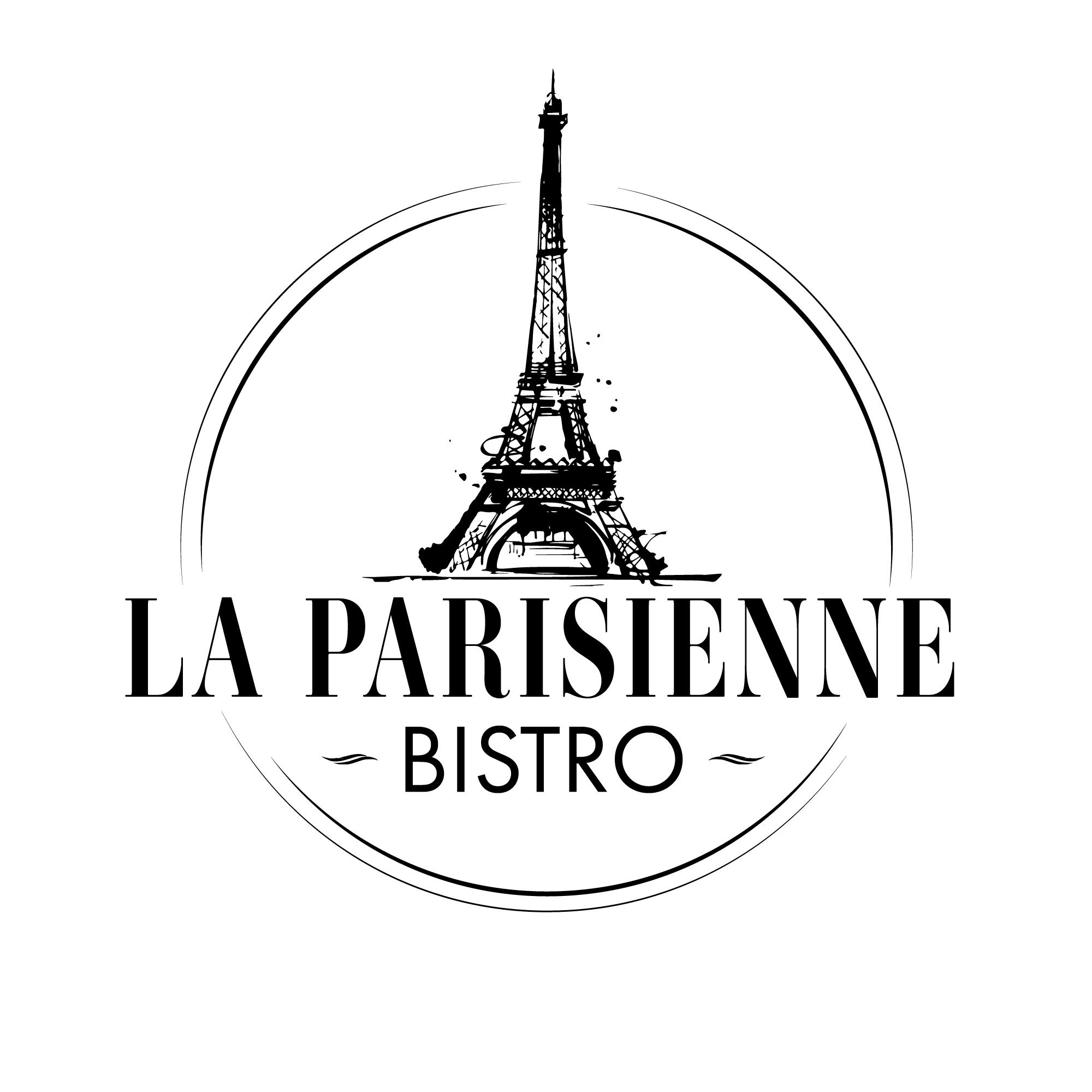 Logo La Parisienne - Eiffelturm abstrakt