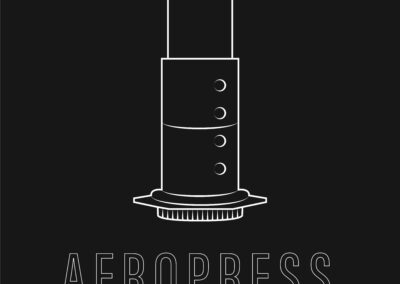 Illustration Aeropress
